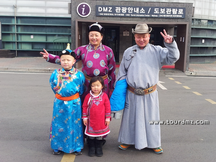 DMZ를 찾은 몽골